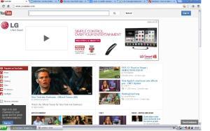 New YouTube homepage